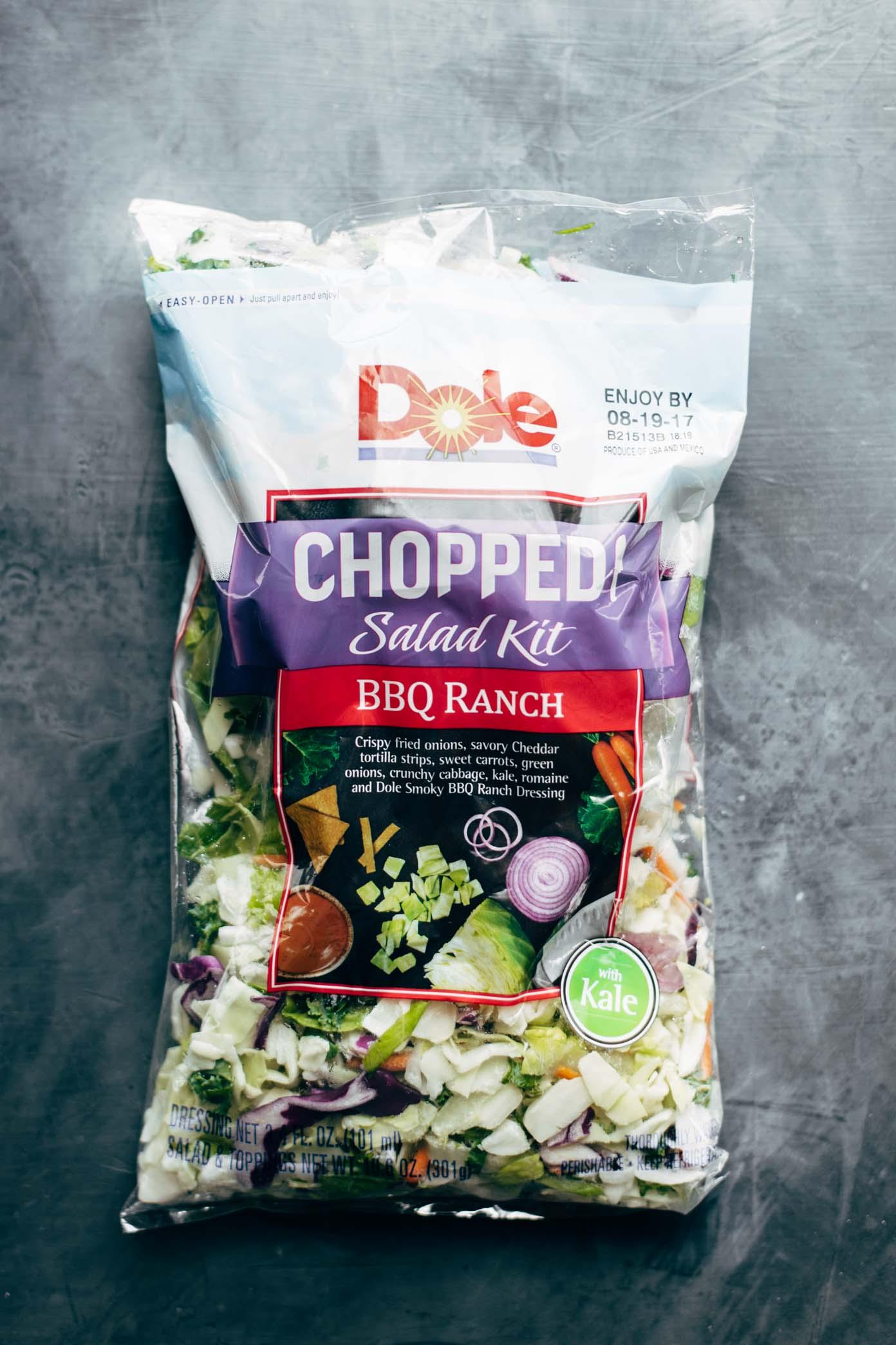 Dole Chopped Salad Kit | pinchofyum.com