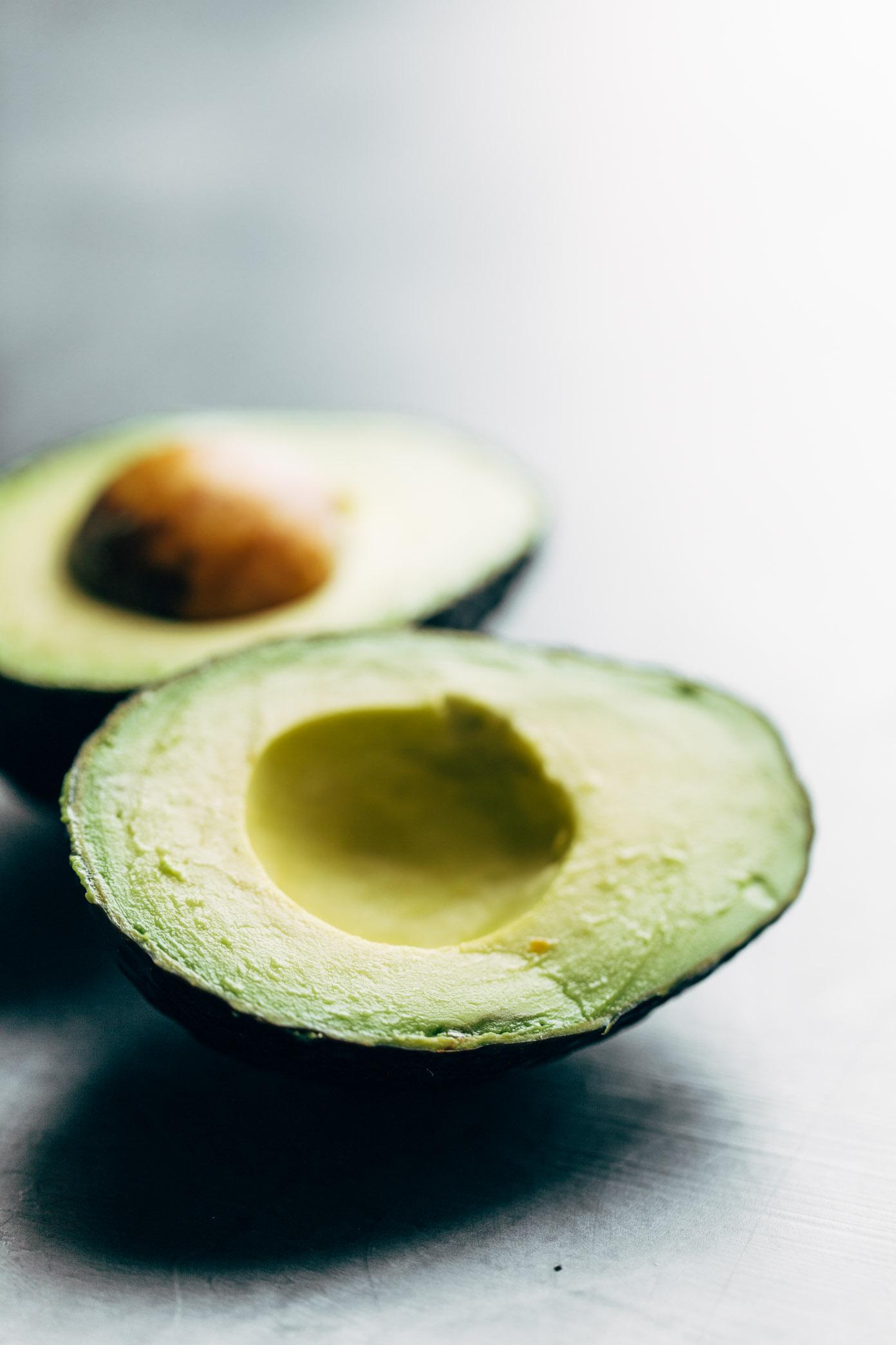 Avocado for Power Salad | pinchofyum.com