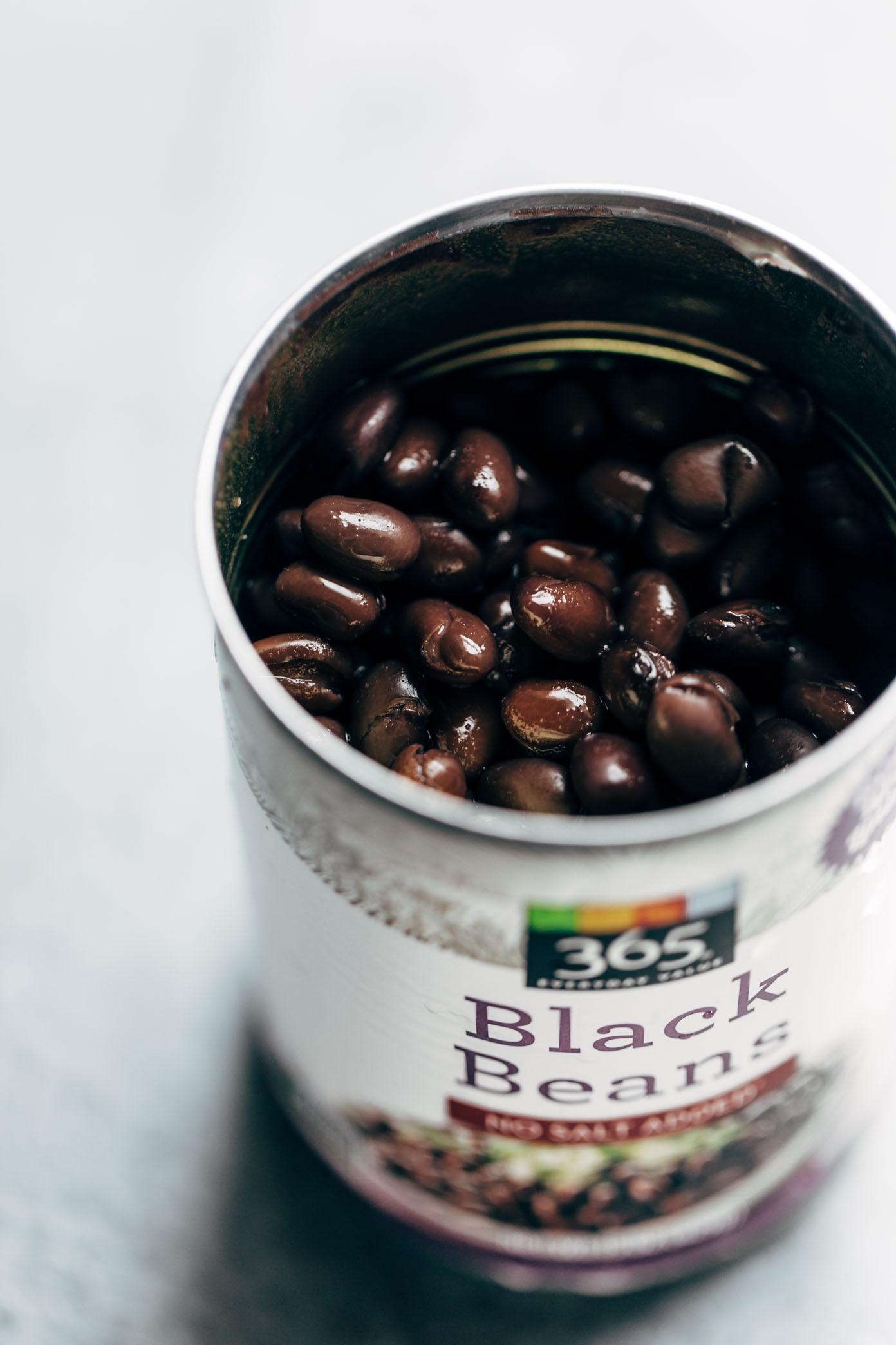 Black Beans for Power Salad | pinchofyum.com