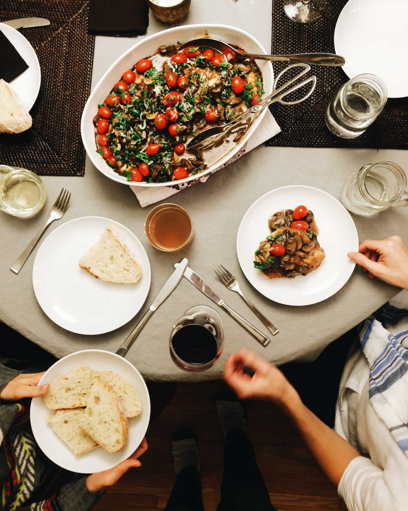 How Starting a Dinner Club Changed My Life | pinchofyum.com
