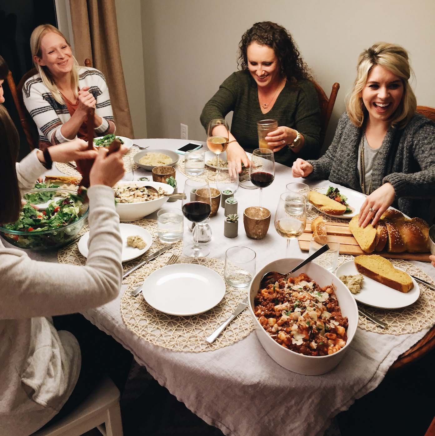 How Starting a Dinner Club Changed My Life | pinchofyum.com